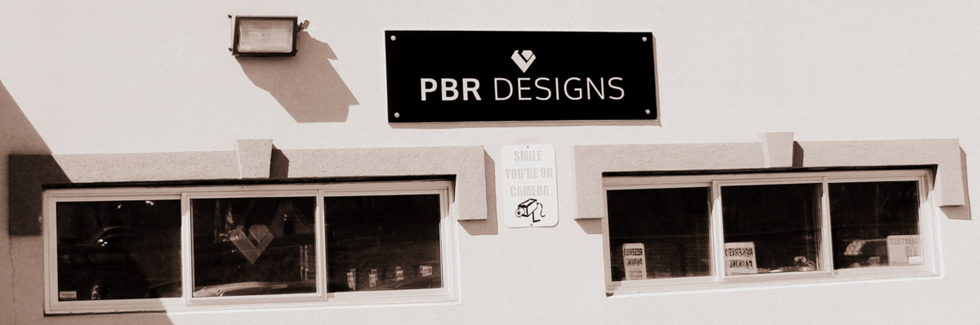 Studio Front - The View of PBR Designs from the street